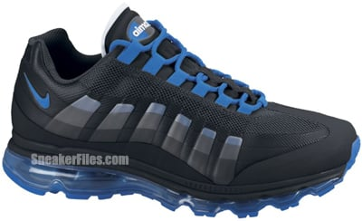 Nike Air Max 95 360 Black Soar Anthracite Release Date 2012