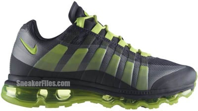 low priced 653b2 690f4 Nike Air Max 95 360 Dark Grey Volt Wolf Grey Release Date 2012