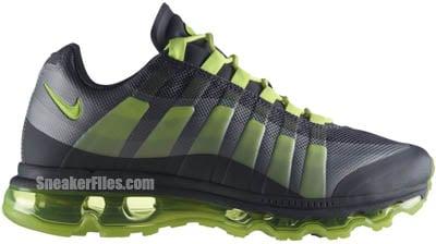Nike Air Max 95 360 Dark Grey Volt Wolf Grey Release Date 2012