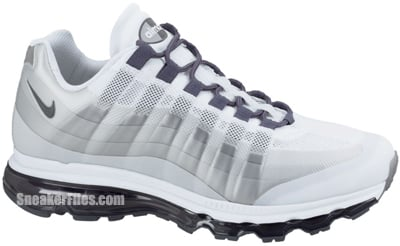 Nike Air Max 95 360 White Dark Grey Anthracite Release Date 2012