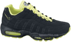 Nike Air Max 95 Black White Volt Release Date