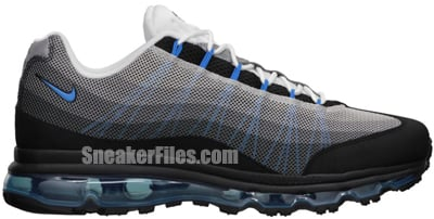 Nike Air Max 95 Dynamic Flywire Black Blue Anthracite Release Date 2013