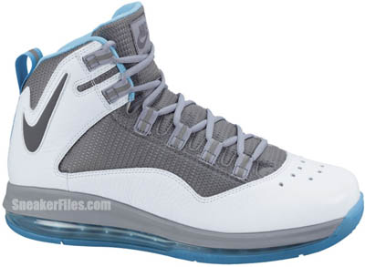 sneakers for cheap 682a7 9e2c4 Nike Air Max Darwin 360 White Grey Stealth Turquoise Blue Release Date 2012