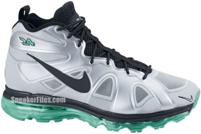 Nike Air Max Griffey Fury Fuse Metallic Silver Black Green Release Date 2012