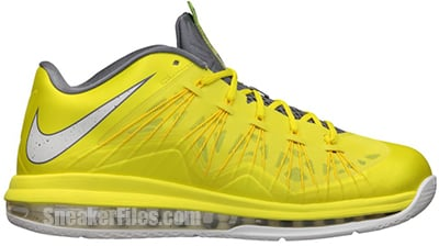 Nike Air Max LeBron 10 Low Sonic Yellow Release Date