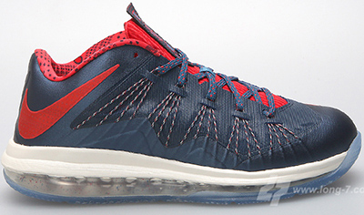 Nike Air Max LeBron 10 Low Squadron Blue Release Date 2013