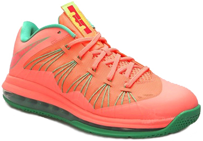 Nike Air Max LeBron 10 Low Watermeleon Release Date 2013