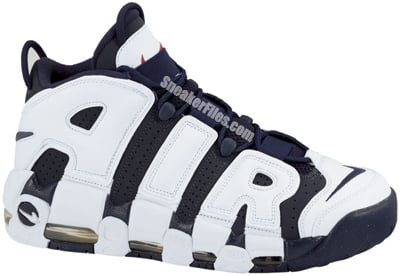 Nike Air More Uptempo Olympic 2012 Release Date