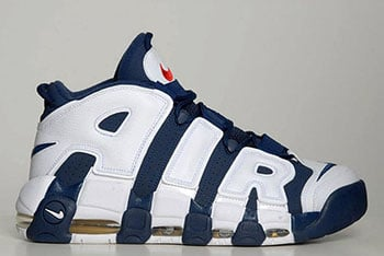 Nike Air More Uptempo Olympic 2016 Release Date