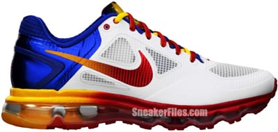 Nike Air Trainer 1.3 Max MP White Game Royal Red Yellow Release Date 2012