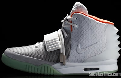 Nike Air Yeezy 2 Platinum Release Date 2012