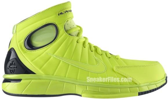 Nike Air Zoom Huarache 2K4 Volt Black Release Date 2012