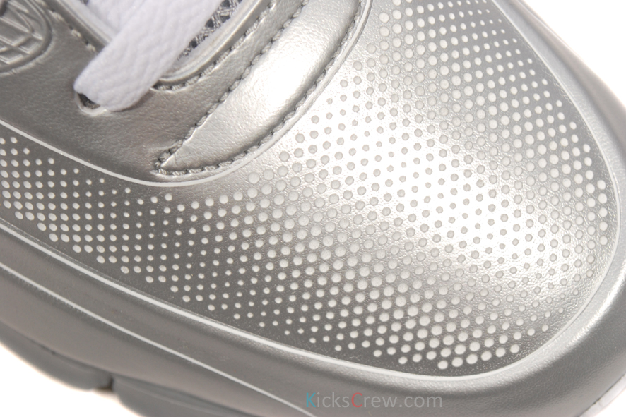 Nike Air Max 90 Current VT LSR \u0027Metallic Silver\u0027