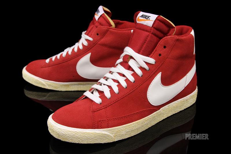 Nike Blazer High Premium Retro 'Gym Red' | SneakerFiles