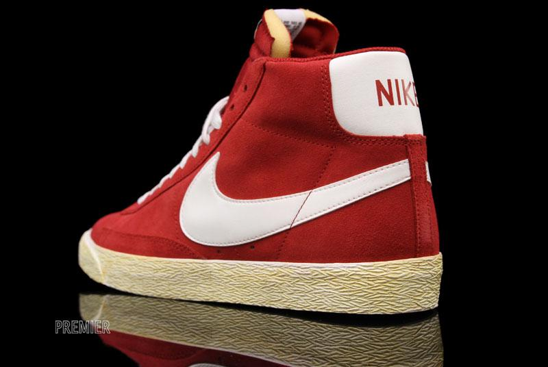 Nike Blazer High Premium Retro 'Gym Red'