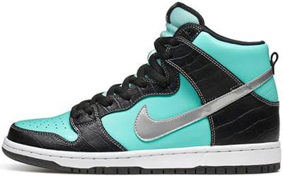 Nike Dunk High Premium SB Diamond Release Date 2014