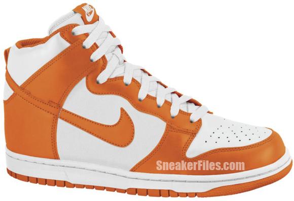 Nike Dunk High 'Sail/Safety Orange'