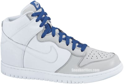 Nike Dunk High White Neutral Grey Release Date