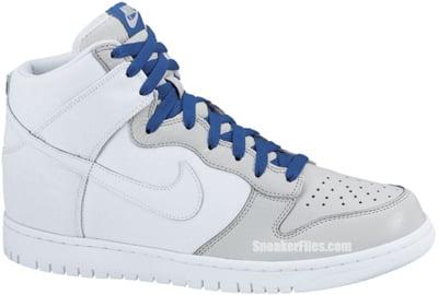 hot sale online e2aab 8d3a6 Nike Dunk High White Neutral Grey Release Date