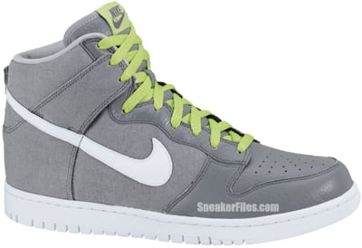 best service 37900 baa3d Nike Dunk High Wolf Grey White Cool Grey Release Date