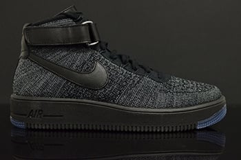 Nike Flyknit Air Force 1 Black
