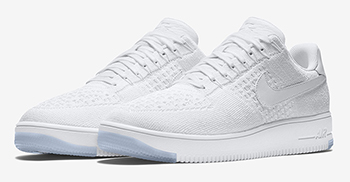 Nike Flyknit Air Force 1 Low White