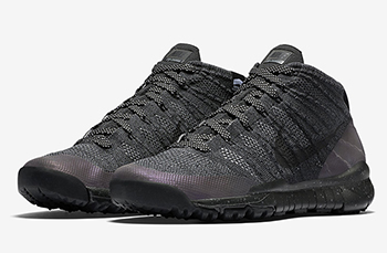 Nike Flyknit Chukka FSB Black Anthracite Release Date