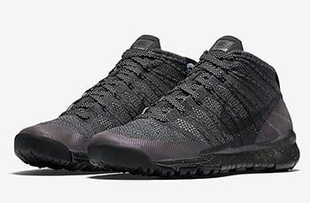Nike Flyknit Chukka FSB Black Anthracite Release Date