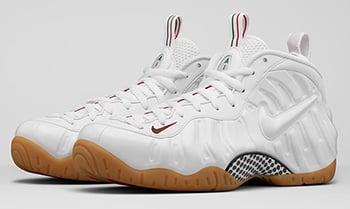 Nike Air Foamposite Pro White Gucci Release Date