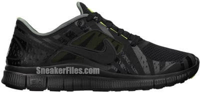 Nike Free Run 3 Hurley NRG Black Volt Release Date 2012