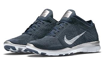 Nike WMNS Free TR5 Flyknit Metallic Black Release