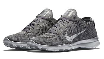 Nike WMNS Free TR5 Flyknit Metallic Grey Release