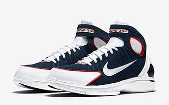 Nike Zoom Huarache 2K4 University Red