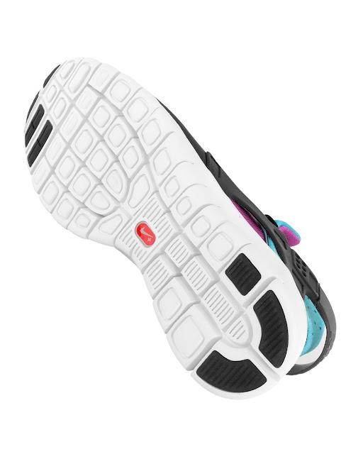 Nike Huarache Free 2012 'Black/Turquoise-Magenta'