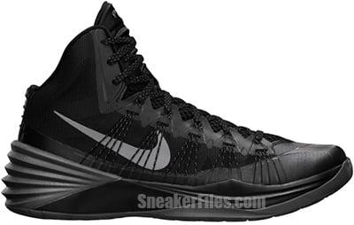 Nike Hyperdunk 2013 Black Metallic Release Date