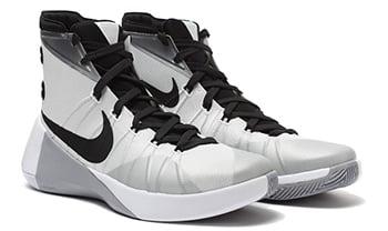 Nike Hyperdunk 2015 White Metallic Silver Release Date
