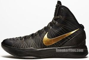 Nike Hyperdunk Elite Black Metallic Gold Release Date