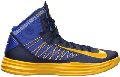 Nike Hyperdunk Game Royal University Gold Obsidian Release Date 2012