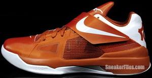 Nike KD 4 Texas Longhorns Desert Orange Release Date
