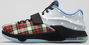 Nike KD 7 EXT Plaid Canvas Release Date 2015