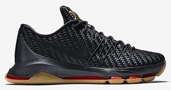Nike KD 8 EXT Black Gum Release Date