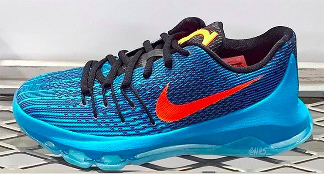 Nike KD 8 OKC Thunder Release Date
