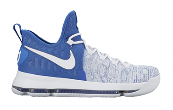 Nike KD 9 Home II White Blue