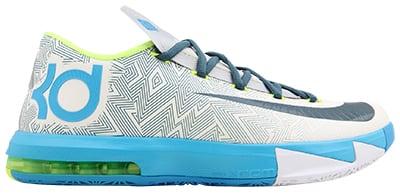 Nike KD VI Pure Platinum Release Date 2014