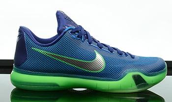 Nike Kobe 10 Emerald City Release Date