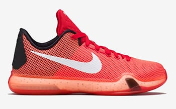 Nike Kobe 10 GS Bright Crimson Release Date