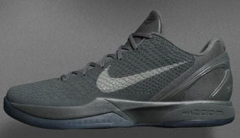 Nike Kobe 6 Fade to Black Mamba