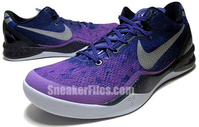 Nike Kobe 8 System Playoff Purple Platinum May 2013 Release Date