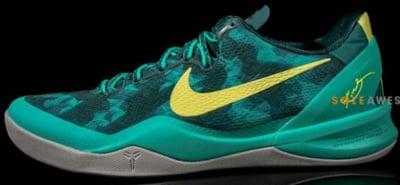 Nike Kobe 8 System Sport Pack Green Camo Release Date 2013