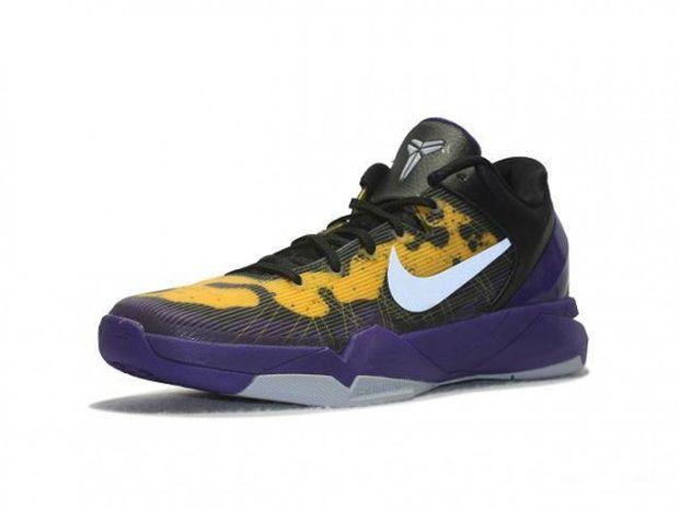 Nike Kobe VII (7) \u0026#39;Lakers Poison Dart Frog\u0026#39;